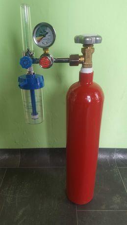 Кислородна бутилка 3л. със система за дишане с гаранция Нова