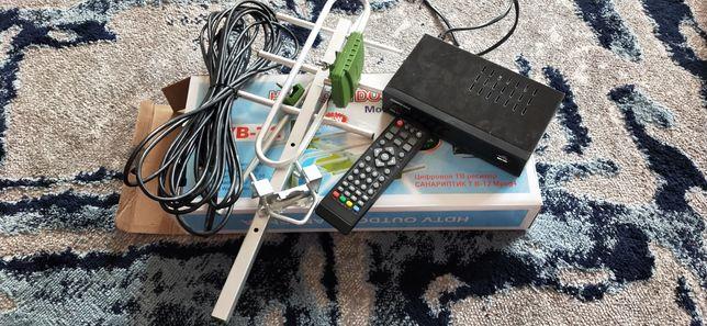 Антен с приставки на 25 канал