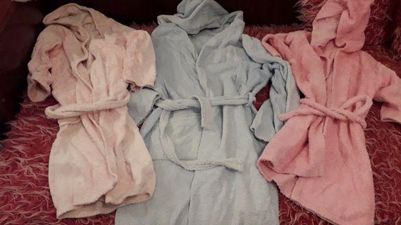 Детски халат за момиче