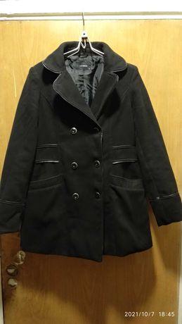 Пальто LC Waikiki  черное 48 р б/у