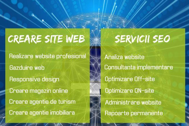 Creare site web de prezentare si magazin online din orice domeniu