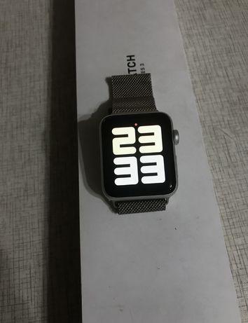 Aplle Watch 3 gps 42ml Silver Aluminium