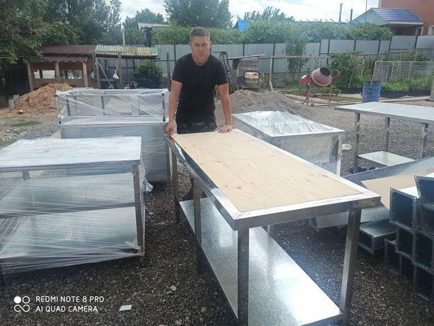 Стол из нержавейки,  железные столы,  тесто стол стол для тесто