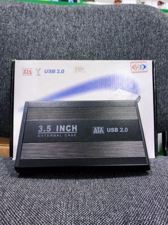 """КЕЙС для ЖЕСТКОГО диска 3.5"""" HDD ExternalCase ВНЕШНИЙ контейнер"""