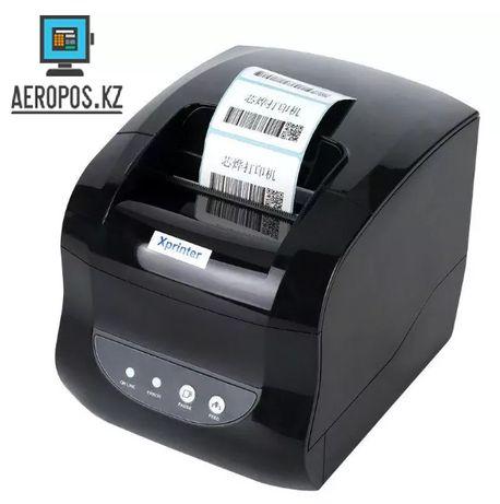 Принтер этикеток XPrinter XP-365b принтер штрих кодов Гарантия!