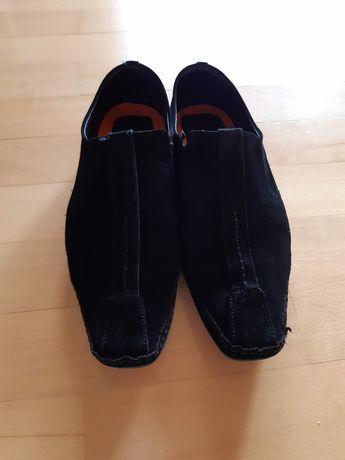 Pantofi piele intoarsa barbat