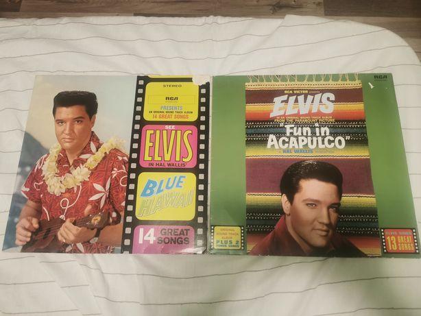 Vând doua discuri  vinyl Elvis