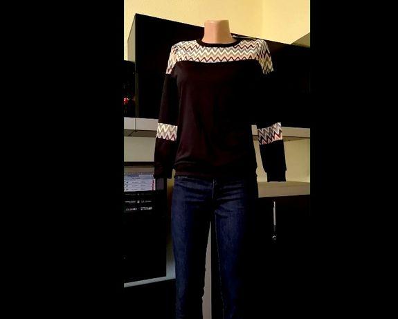 Bluza zig zag