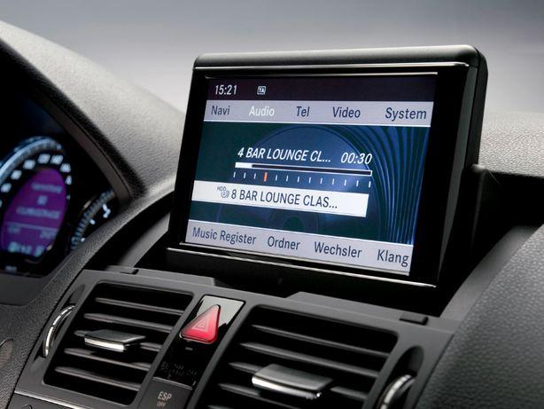 DVD navigatie Mercedes pentru C, CLS, E, GLK- Klasse 2020 (w204/ w212)