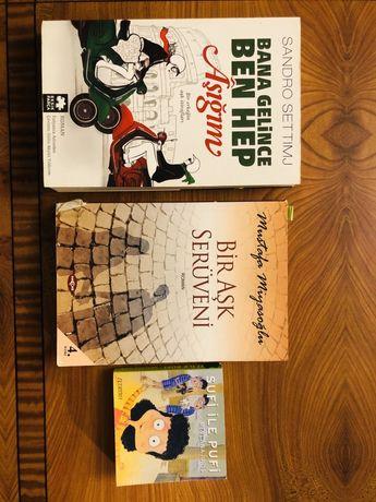 Книги на турецком языке Tükçe kitaplar
