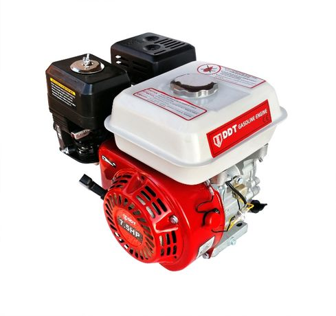 Motor pe Benzina DDT Profesional 7.5 CP cu fulie dubla