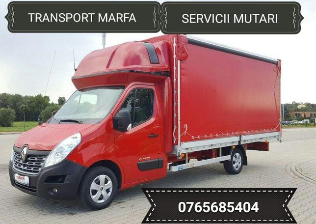 Transport marfa ,servicii mutari mobila .Ofer manipulanti