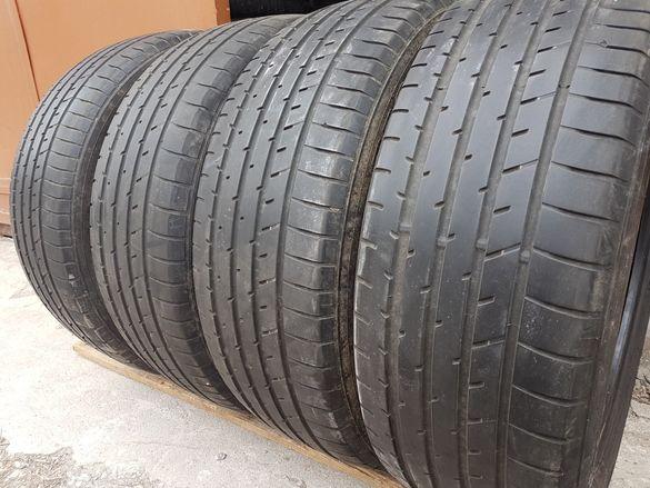 4 бр. летни гуми TOYO 225/55/19 4-4,5 mm DOT 3814