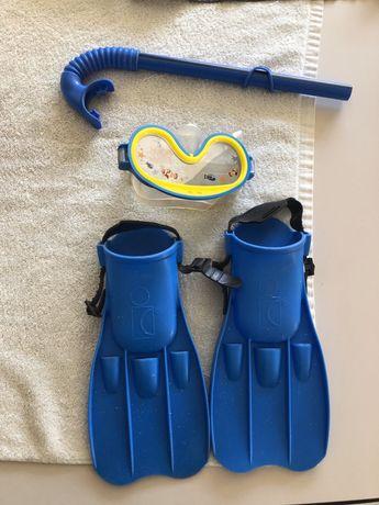 Set de scufundat pentru copii