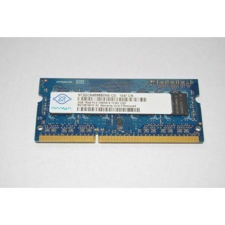 Memorie laptop Nanya 4GB 2Rx8 PC3-10600S-9-10-F2 1333 PC3-10600S
