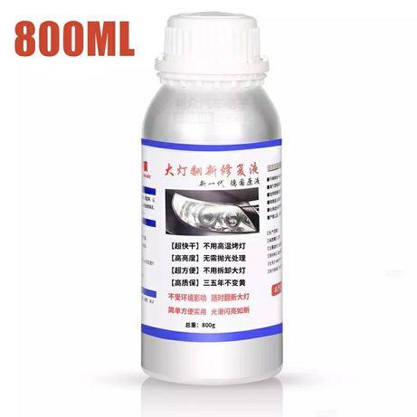Жидкость для химической полировки фар 800 гр