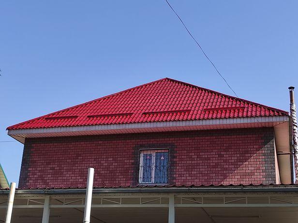 Покраска крыш любой сложности