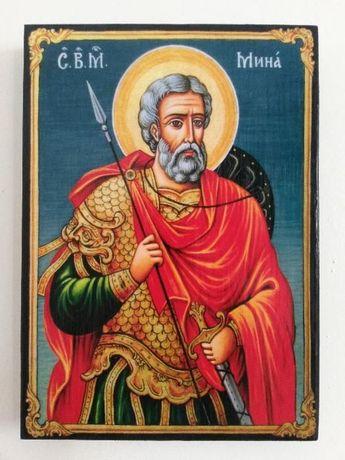 Икона на Свети Мина , различни изображения , icona Sveti Mina