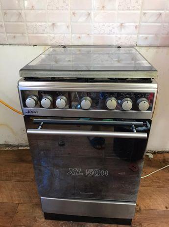 Продам газ плиту с вытяжкой