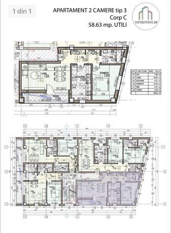 Apartament 2 camere Ostroveni 29