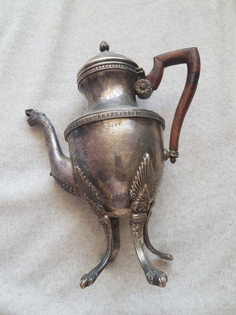 Cafetiera argintata sec.XVII