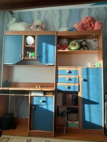 Продам в детский шкаф с камодчиками
