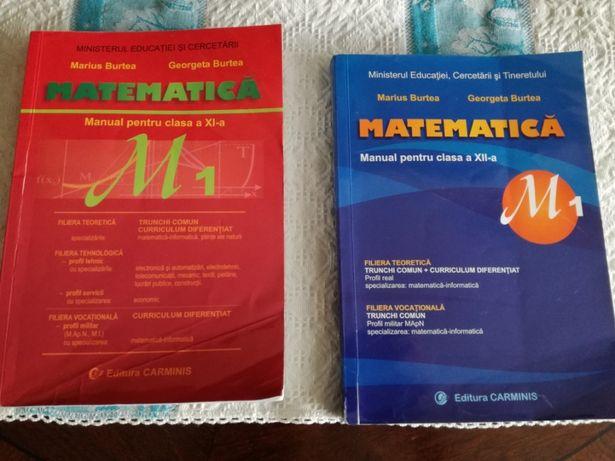 SET 2 manuale de matematică ,clasele a 11-a și a 12-a,profil real