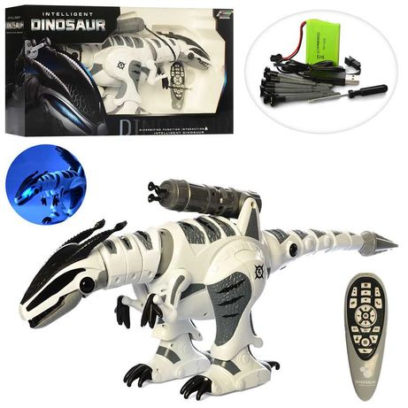 Радиоуправляемый Робот Динозавр , ходит, рычит, танцует, стреляет.