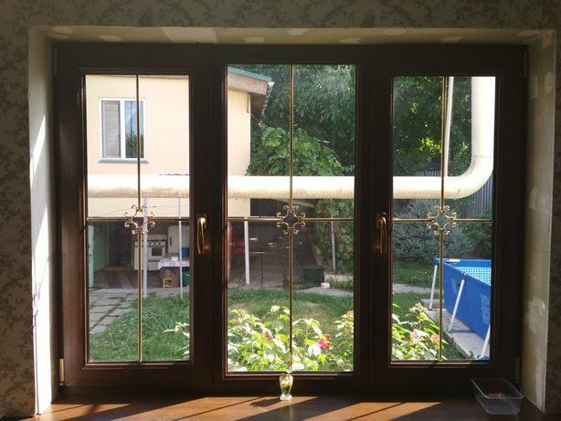 Пластиковые окна перегородки двери витражи на  заказ Алматы