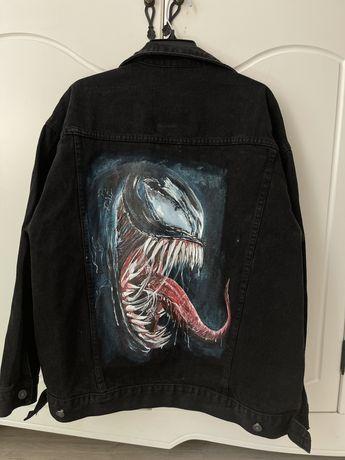 Джинсовая куртка Веном