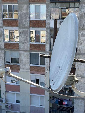 Сателитна антена Булсатком