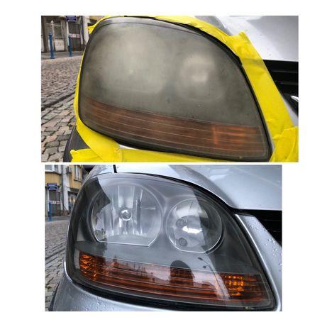 *НА ВАШ АДРЕС* Полиране на фарове и ремонт на автомобилни стъкла.