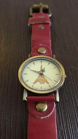 Часы наручные с ремешком ручной работы