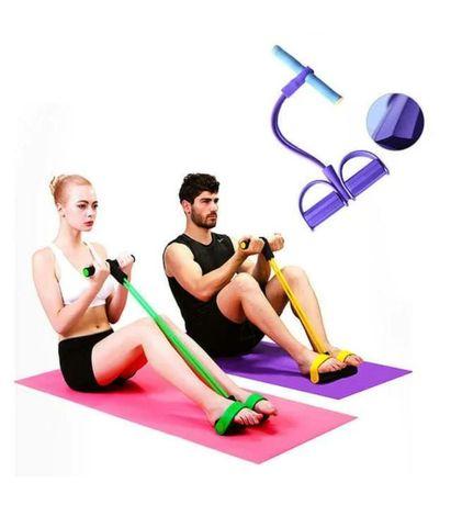 Эспандер педаль для мышц спины, пресса, рук и плеч