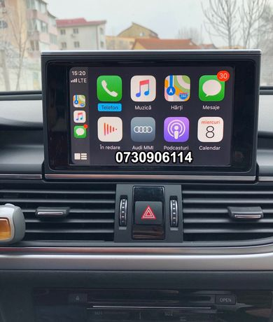 VW AUDI Apple CarPlay Android Waze A4 A5 A6 A7 A8 Q7 Passat 2020 NAVI