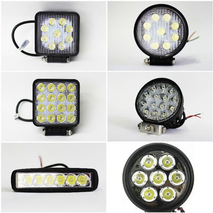 Proiectoare LEDuri auto off road - Proiector LED bec halogen Bucuresti - imagine 1