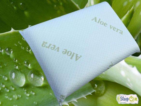 Възглавници Мемори: АЛОЕ ВЕРА и ANION AIR