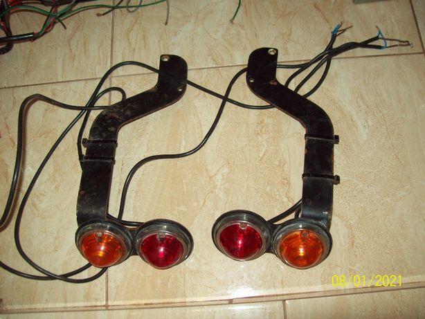 Lot lampi / lampa auto spate remorca motocicleta auto epoca ZKW 12V