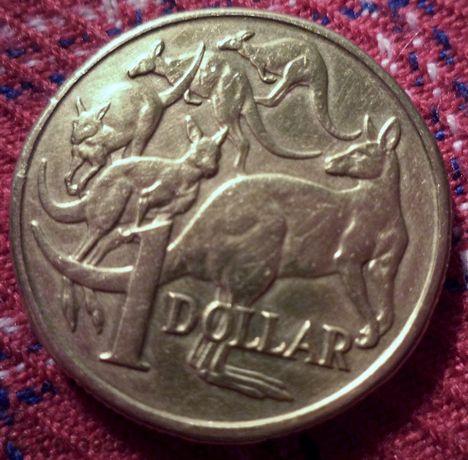 1 $ --- Австралия