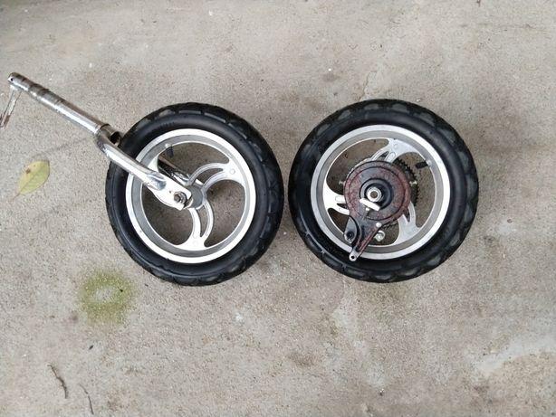 2 Roti trotineta electrica bicicleta scoter 30 cm latime 5 cm
