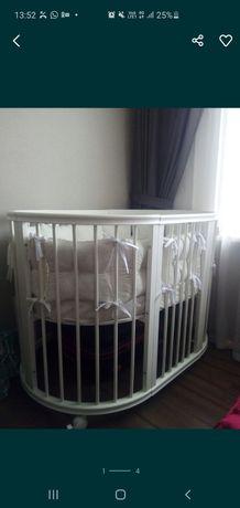 Продам детскую кроватку premium baby 9