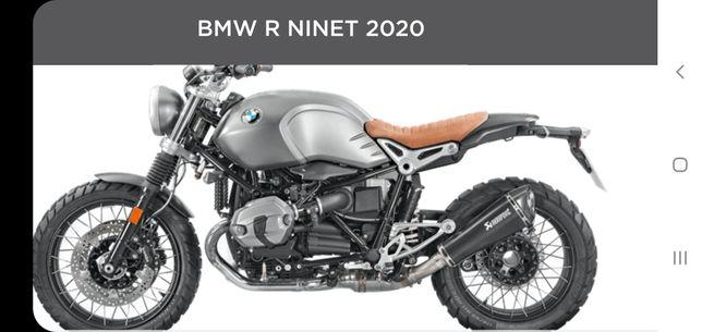Toba moto Akrapovici BMW R nine T Originala NOU 490 EURO