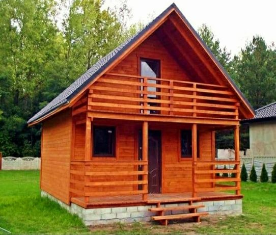 Fac si fac cabane din lemn casute pentru vacanța