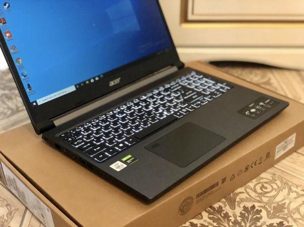 Core i7-9th Gen/Ram:16GB/SSD:512|Acer Aspire 7, Мощный Игровой Ноутбук