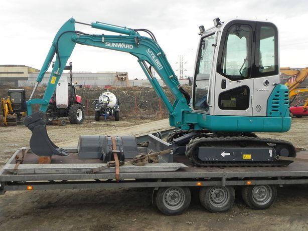 Inchiriez utilaje-execut lucrari excavator, miniexcavator, buldoexcava