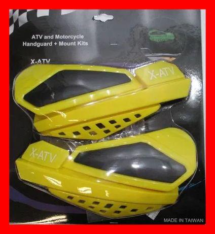 Kit Handguard Aparatori Ghidon ATV QUAD Universale prindere Aluminiu
