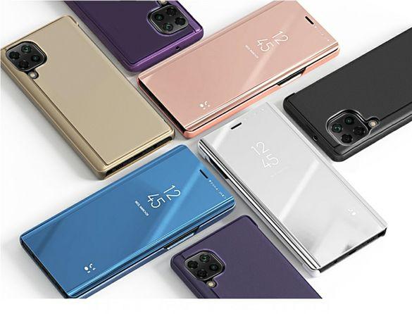 Смарт Калъф Тефтер за Huawei P40 Lite / P40 Lite E / Pro Огледален