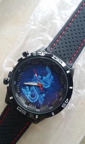 Chinese Blue Dragon Unisex Watch - спортен часовник