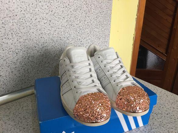 ОРИГИНАЛНИ ***Adidas Originals Superstar 80S 3D MT Metal Gold Edition