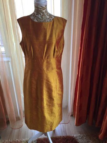 Rochie de ocazie galben-portocaliu